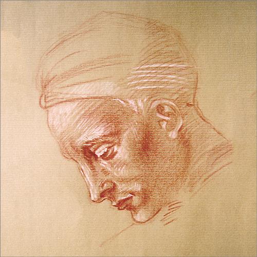 Portret, wg. Michała Anioła