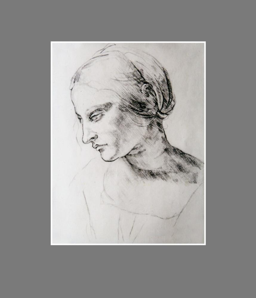 Portret, wg. Leonarda da Vinci