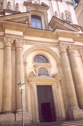 Kościół Św. Anny, Kraków | 1992